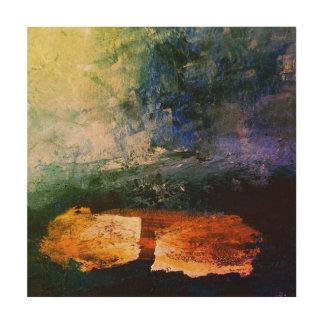 "Art en bois de mur de cm X 30,5 cm (12"" de la mer"