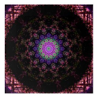 Art foncé de mandala