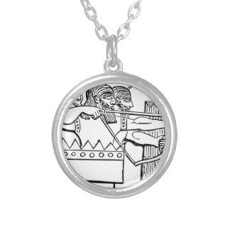 Art grec de guerrier collier