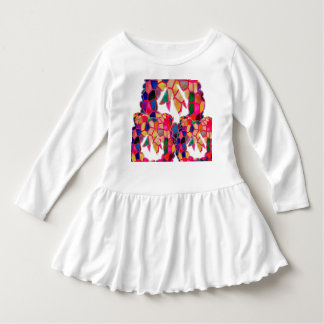 Art heureux de couleurs d'abrégé sur robe de ruche