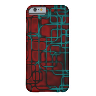 Art infrarouge de laser coque iPhone 6 barely there