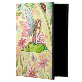 Art magique d'imaginaire de fée et de coccinelle coque iPad air