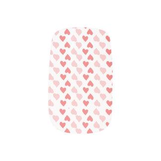Art minuscule de clou de coeurs stickers pour ongles