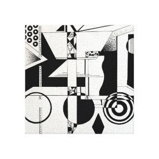 "Art moderne 14"" de mur de toile x 11"""