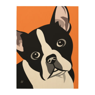 Art moderne de Boston Terrier