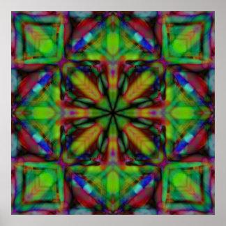 Art moderne de kaléidoscope ($12,80 de petite tail