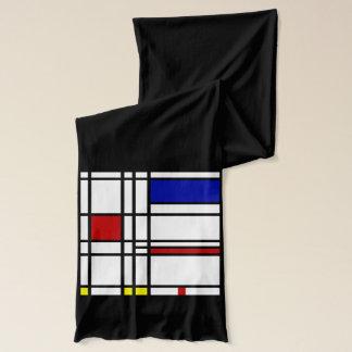 Art moderne de Mondrian Écharpe