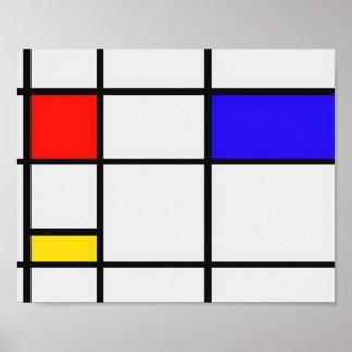 Art moderne de Piet Mondrian