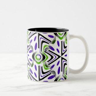 Art moderne tasse 2 couleurs