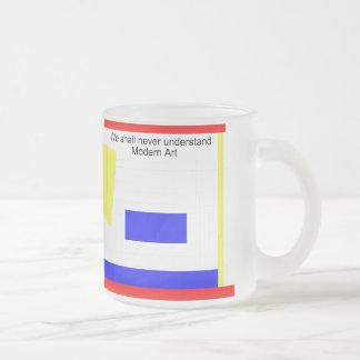 Art moderne tasse givré