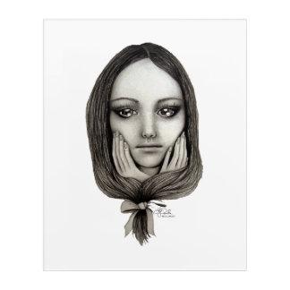 Art Mural En Acrylique Comme une poupée