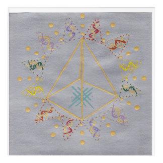 Art Mural En Acrylique Guérison d'ADN/activation