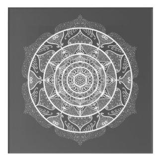 Art Mural En Acrylique Mandala de lamantin