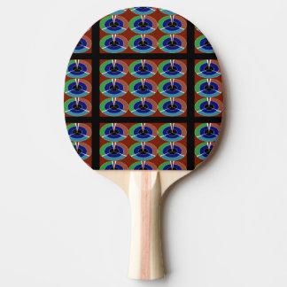 ART NavinJoshi de succès de Goodluck de palette de Raquette De Ping Pong