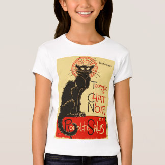 Art Nouveau de Tournée du Chat Noir Tshirt