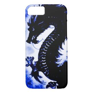 art Nouveau d'imaginaire de dragon d'eau de Coque iPhone 8/7
