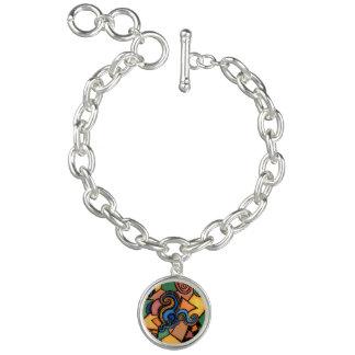 Art portable de bracelet abstrait génial de charme