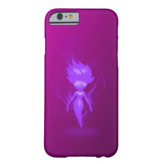 Art pourpre d'aerographe de lutin de royaume coque iPhone 6 barely there