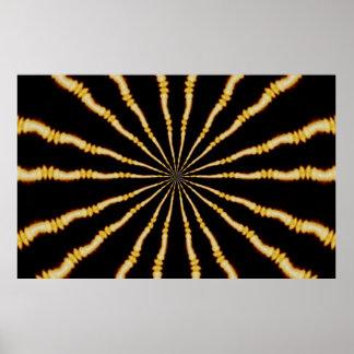 Art psychédélique hypnotisant Trippy hypnotique
