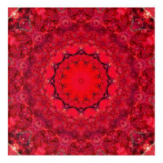 Art rouge de mandala