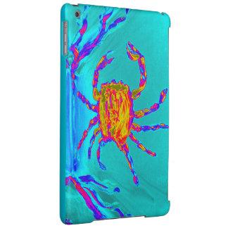 Art sous-marin de crabe frais