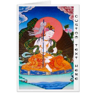 Art tibétain oriental frais de tatouage de carte