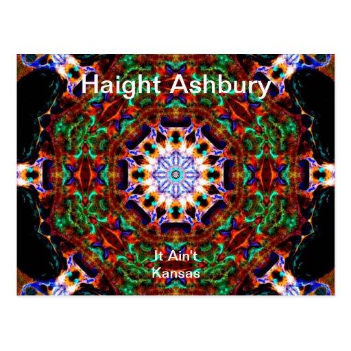 Art. van de Mode van de Hippie van Ashbury van Hai Wenskaart