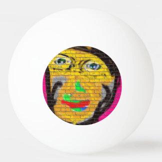 Art. van het Portret van het Man van de Sporten Pingpongballen
