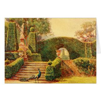 Art vintage de jardin - Elgood, George S. Carte