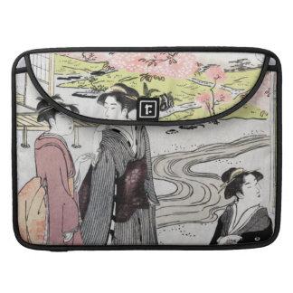 Art vintage japonais #1 poche pour macbook