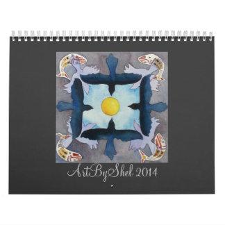 ArtByShel 2014 Calendrier