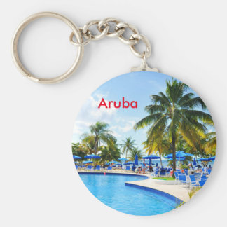 Aruba Porte-clé Rond