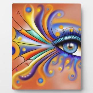 Arubissina V1 - oeil de poissons Plaque Photo