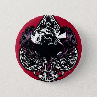 As de Batman de crête gothique des espaces Badge Rond 5 Cm