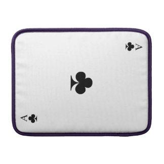 As de trèfle poches macbook