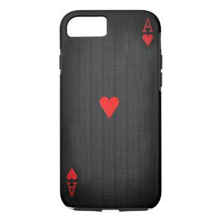 As des coeurs noir coque iPhone 7