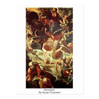 Ascension par Jacopo Tintoretto Carte Postale