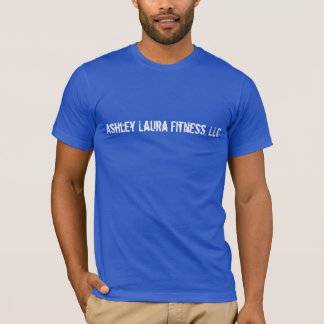 Ashley Laura Fitenss, T-shirt de bleu royal de LLC