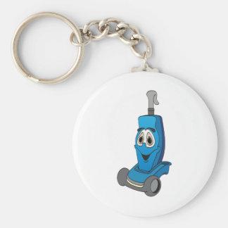 Aspirateur bleu porte-clé rond