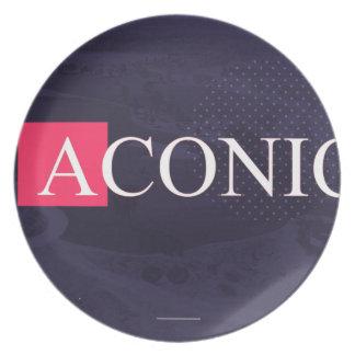 ASSIETTE ACONIC