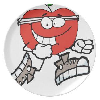 Assiette apple3 fonctionnant