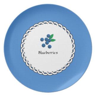 Assiette Baie-Plats (c) Blueberries_Dessert_Luncheon
