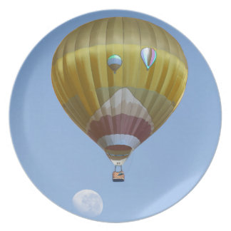 Assiette Ballon à air chaud
