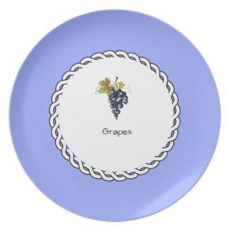Assiette _Berry_Plate des Baie-Plat-Raisins (c)