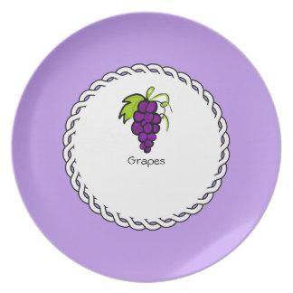 Assiette _Berry_Plate des Baie-Plat-Raisins II (c)