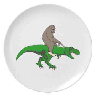 Assiette Bigfoot montant T Rex