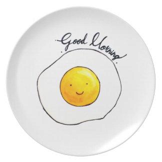 Assiette Bonjour