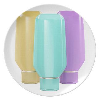 Assiette Bouteilles en plastique pour les produits