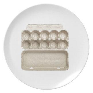 Assiette Carton vide d'oeufs