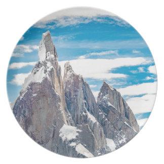 Assiette Cerro Torre - visibilité directe Glaciares de